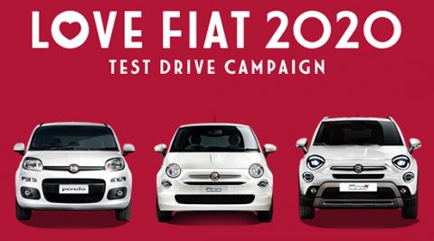 LOVE FIAT 2020 試乗キャンペーン実施!